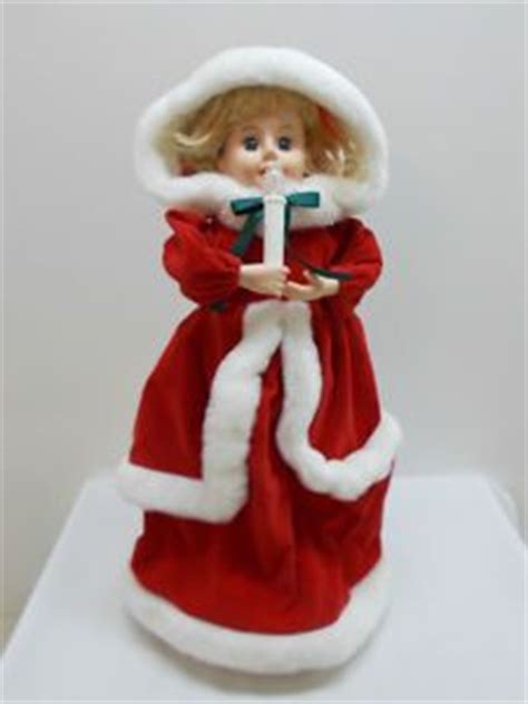 details about vintage telco animated christmas motionette