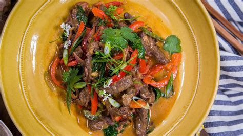 taste of home magazine s spicy beef and pepper stir fry