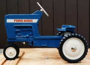 ford pedal tractors