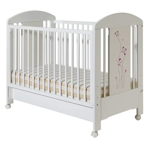 Bambino Crib by Lolek Pink Butterfly Cribs Lolek Pink Butterfly With