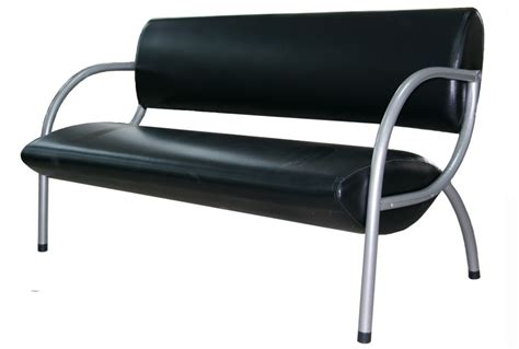 reception bench reception bench pl506 black reception benches