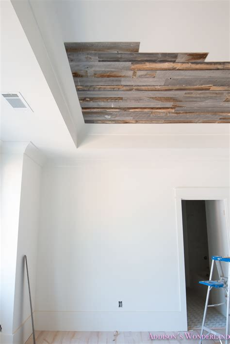 weathered wood ceiling our reclaimed weathered wood stikwood ceiling addison s