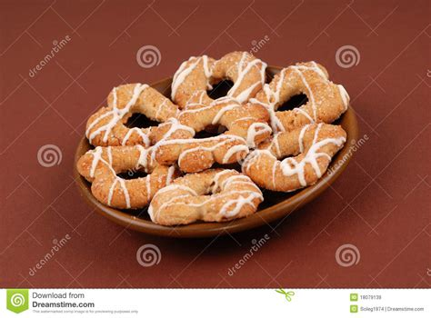 Mr Pat Glaz Cookies cookies with glaze on a plate royalty free stock images image 18079139