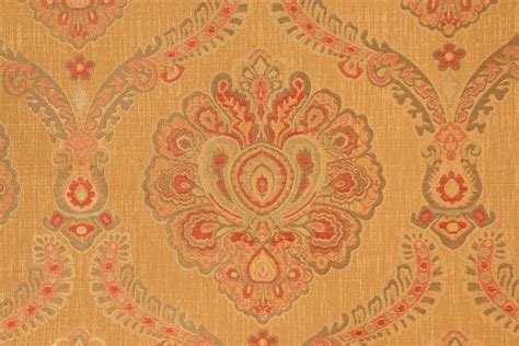 upholstery manchester manchester tapestry upholstery fabric in gold
