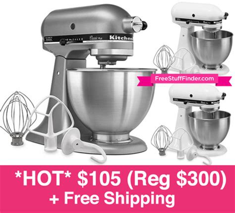 *HOT* $133.99 (Reg $300) KitchenAid Mixer (Today Only)   Free Stuff Finder