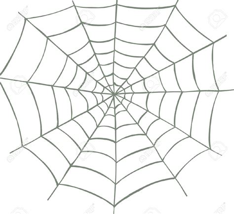 clipart web spider web clipart pencil and in color spider