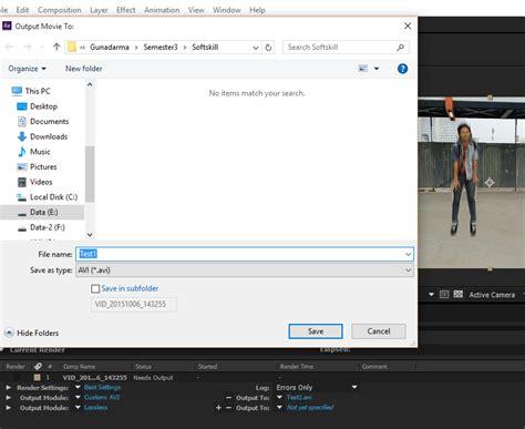 tutorial membuat video di after effect fajar s tutorial membuat superman di after effect