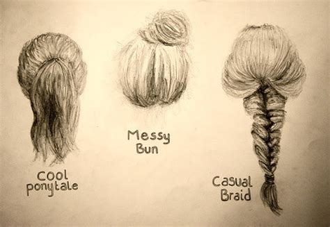 cool hairstyles drawing drawings hairstyles coutureandbows