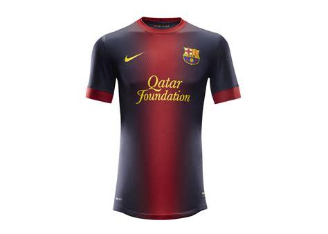 Jersey Original Fc Barcelona Home Season 20152017 nike football unveils barcelona home and away kits nike news