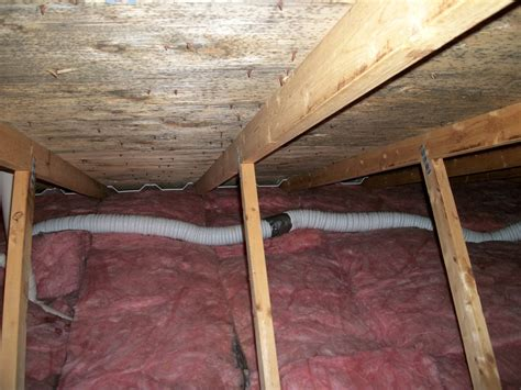 Bathroom Fan Into Attic Poor Venting Of Bathroom Fans Leads To Moisture Mold In The Attic Space