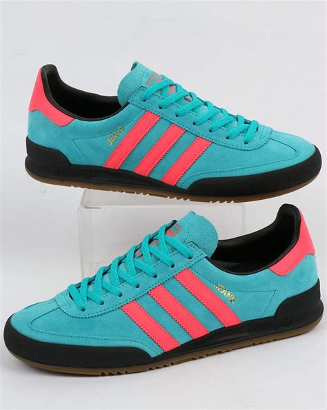 adidas jeans adidas jeans trainers energy blue pink shoes suede originals