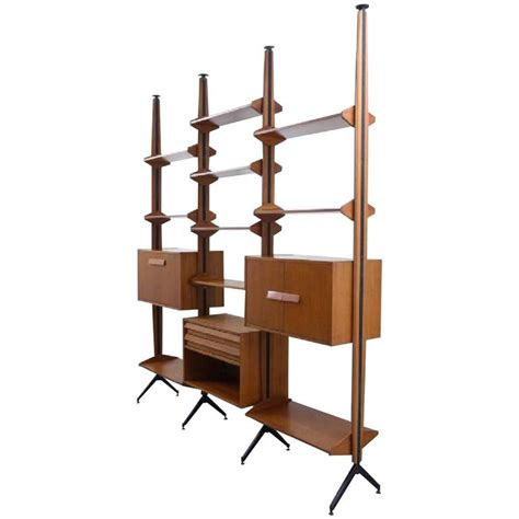 modular shelving system or room divider italy 1960s for