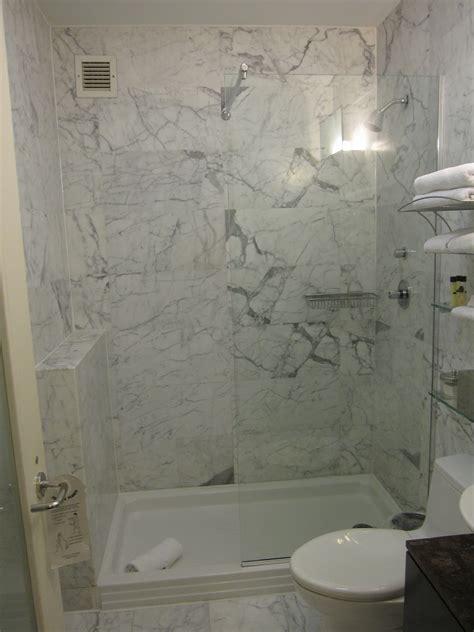 Tub Shower Ideas For Small Bathrooms Bathroom Open Shower Ideas For Small Modern Bathrooms Marble Wall Decoration Glass Shelving