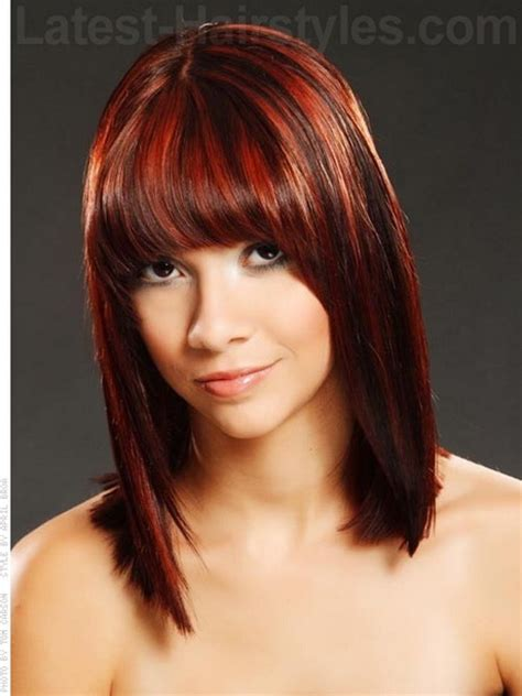 med length hairstyles 2014 medium length hairstyles with bangs 2014