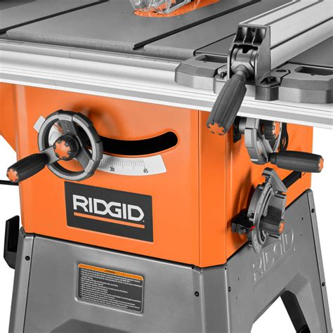 ridgid 13 10 in professional table saw ridgid 13 10 in professional cast iron table saw