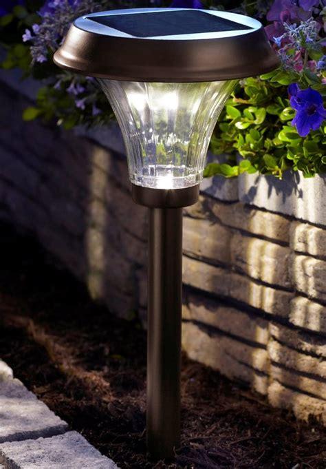 moonrays 91754 richmond solar light metal path light with
