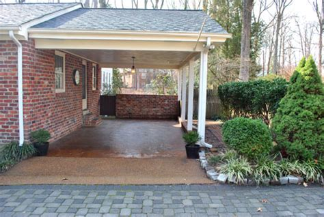 Adding A Carport To The Side Of Your House listy mclisterson updated house