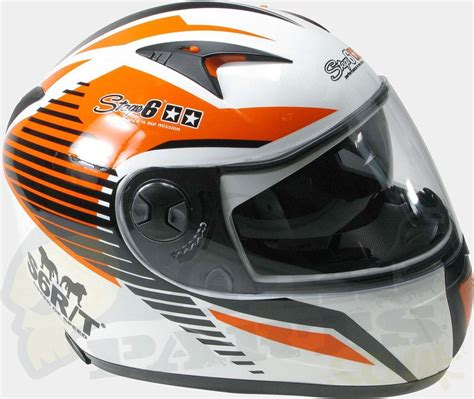 Helm Yamaha Special Swirl stage6 mkii racing helmet pedparts uk