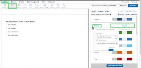 online umfrage layout erste schritte mit questionpro kurzanleitung f 252 r neukunden