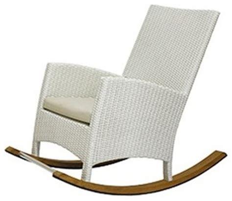 Modern Outdoor Rocking Chair by Tessa Rocking Chair Modern Outdoor Rocking Chairs
