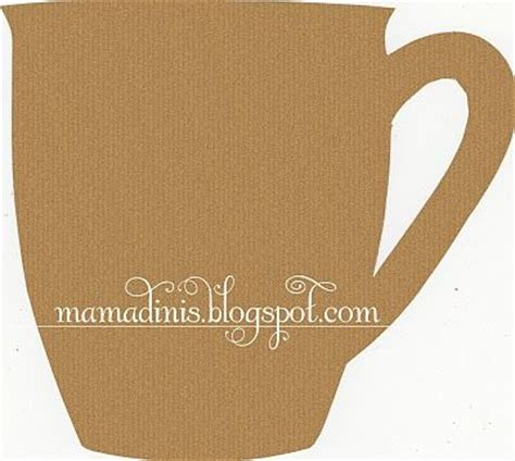 coffee cup card template 23 best images about printables on sting