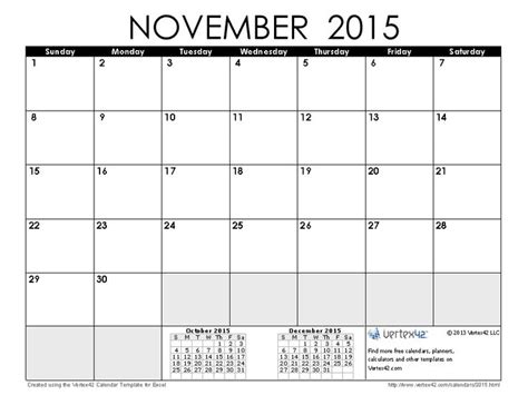 printable calendars vertex42 download a free november 2015 calendar from vertex42 com