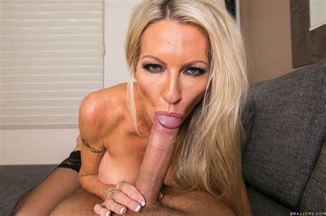 Slender Blonde With Big Tits Sucks Cock Photos Emma Starr Milf Fox