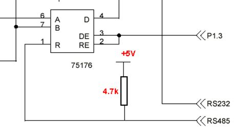 pullup and pulldown resistor in 8051 pull resistor rs485 28 images the driver ability of the chip of tl7705 supervisor and reset