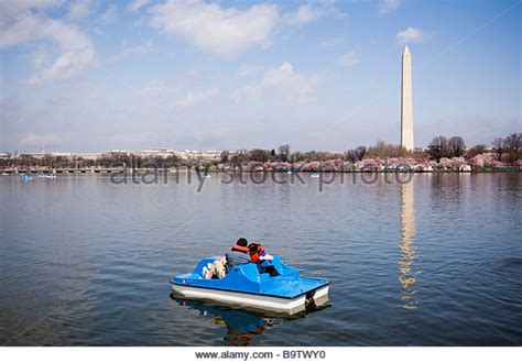 paddle boats dc washington dc tidal basin paddle boat stock photos