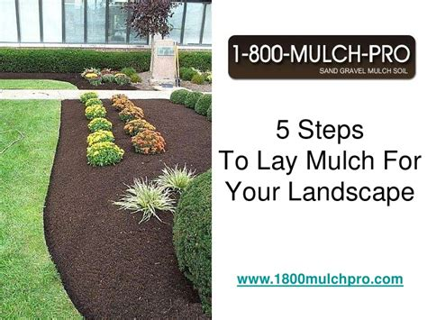 how to your to lay how to lay mulch for your landscape