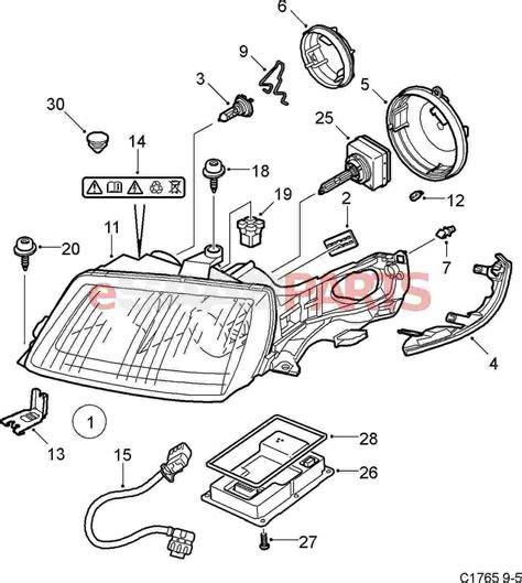 saab parts diagrams 5409719 saab cable harness genuine saab parts from