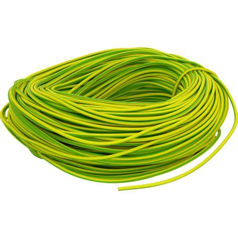 vinyl wire sleeving pvc earth sleeving 100m 6mm green yellow toolstation