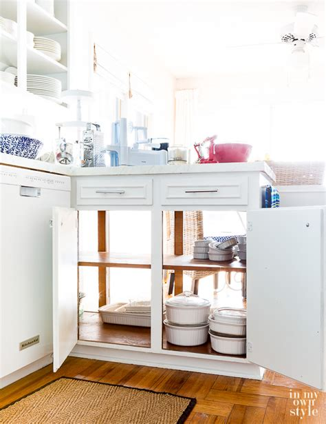 a peek inside my kitchen cabinets in my own style