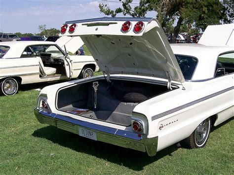 64 impala trunk 64 chevy impala ss rear view with well trunk