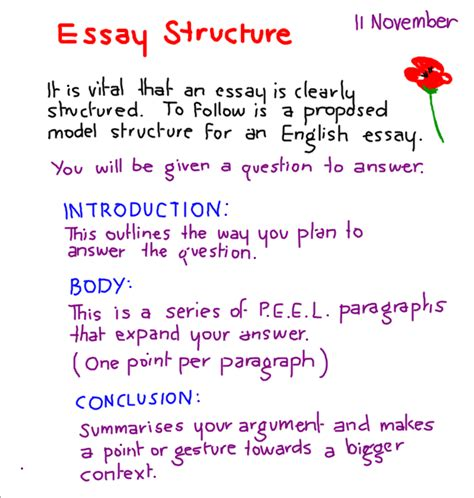 Essay Structure Year 7 | the nautical 7f the resource site for members of the 7f