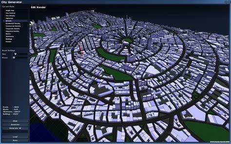 Online Building Map Maker city generator