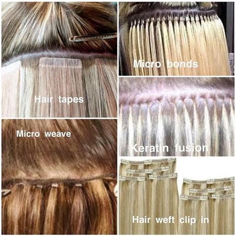 Types Of Hair Extension by Best 25 Types Of Hair Extensions Ideas On