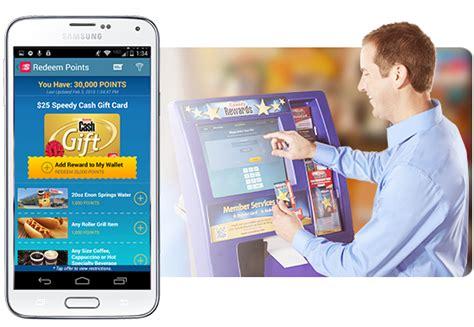 Gift Card Redemption Kiosk - redeem points speedy rewards speedway