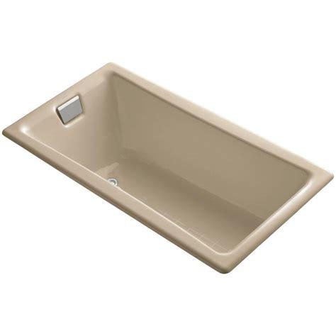 kohler villager bathtub kohler villager 5 ft right drain cast iron bathtub in