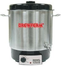 Brewferm Stainless Steel Brew Kettle Boiler - brewkettle brewferm 27 liter ss electric