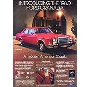 1980 Ford Granada ESS Ad  CLASSIC CARS TODAY ONLINE