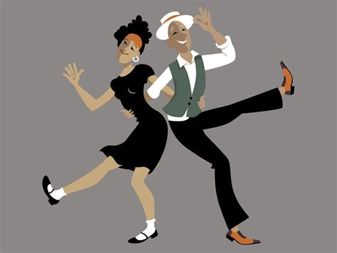 Lindy Hop Swing Out by Swing Arthur Murray Santa