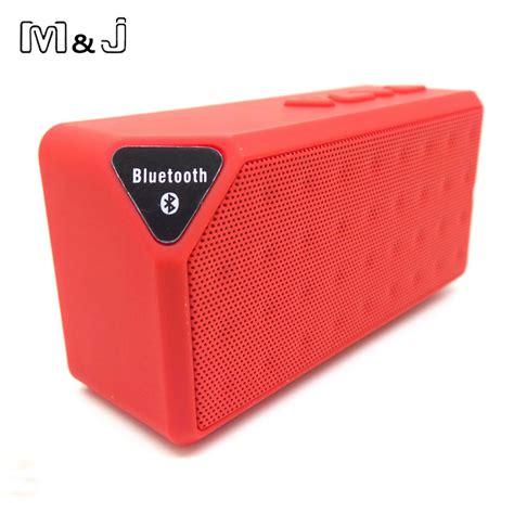 Speaker Bluetooth X3 m j bluetooth speaker x3 jambox style tf usb fm wireless