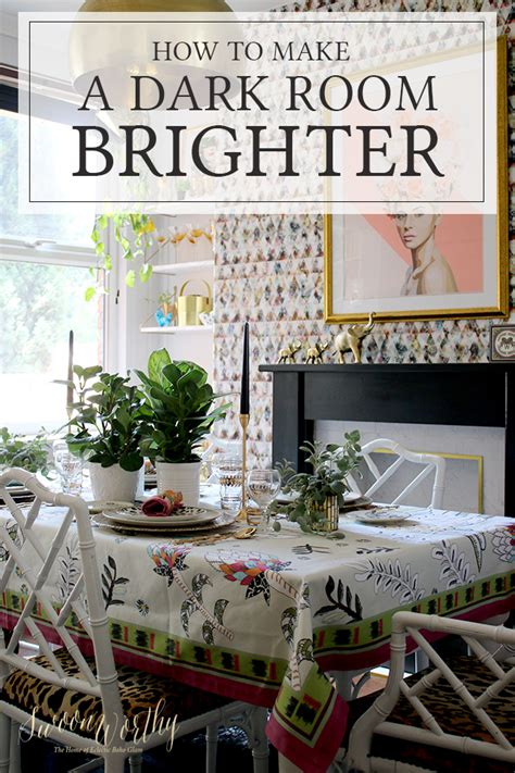 how to make your room darker 10 ways to make a room brighter swoon worthy