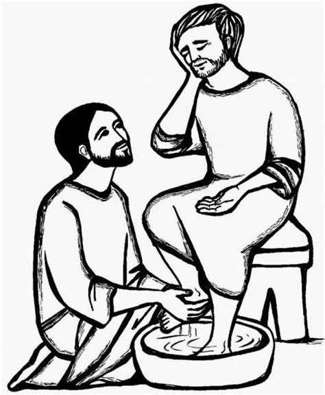 holy thursday washing the disciples feet catholic