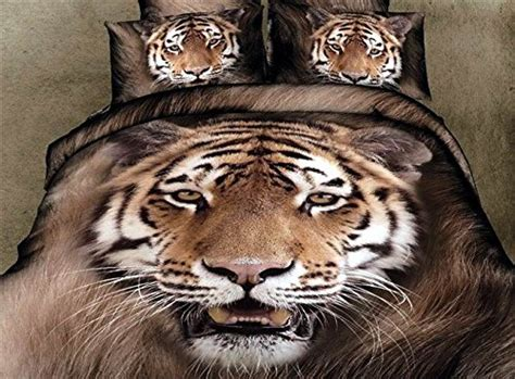 tiger bed set 12 amazing realistic tiger bedding sets