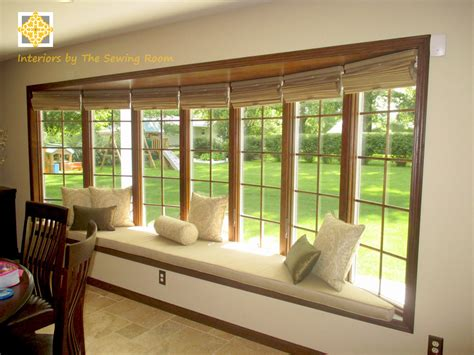 bay window window treatments successful solutions series window treatment ideas for