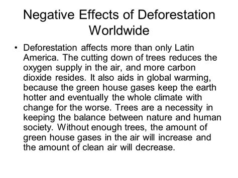 Causes And Effect Of Deforestation Essay by Essay On Deforestation Deforestation Essay Essay