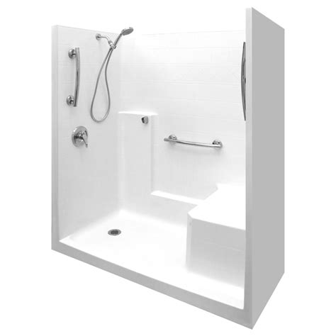 Kohler Bathtub Drain Assembly Ultimate Sa 60 X 32 One Piece Low Threshold Shower Stall