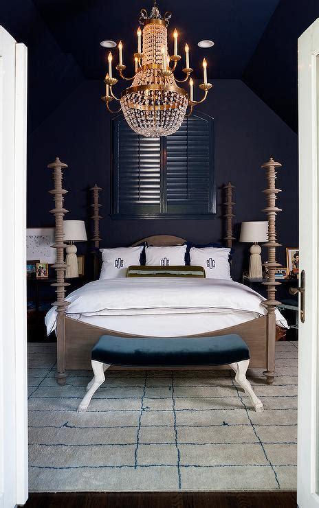 flea market bedroom taupe and blue bedroom with paris flea market chandelier contemporary bedroom
